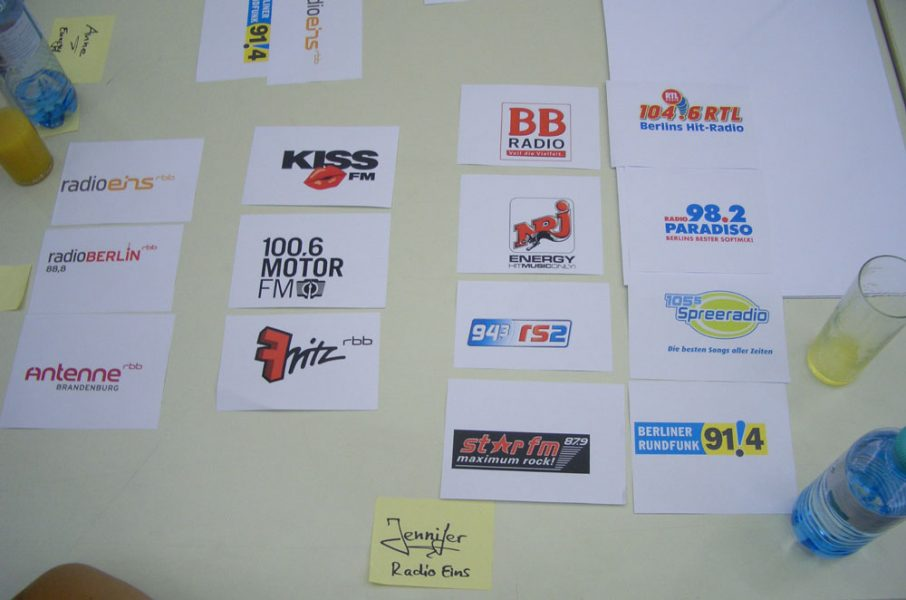 Fokusgruppe: Ermittlung der Senderimages in Berlin